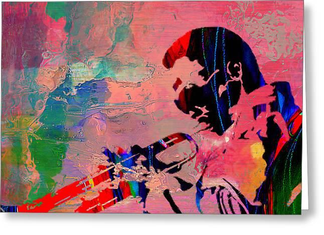 Miles Davis Greeting Card