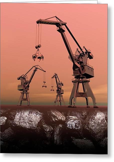 Mining Greeting Card
