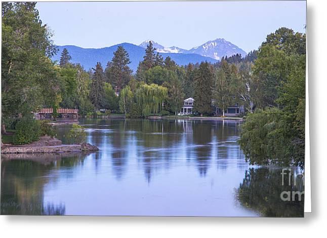 Mirror Pond Greeting Card