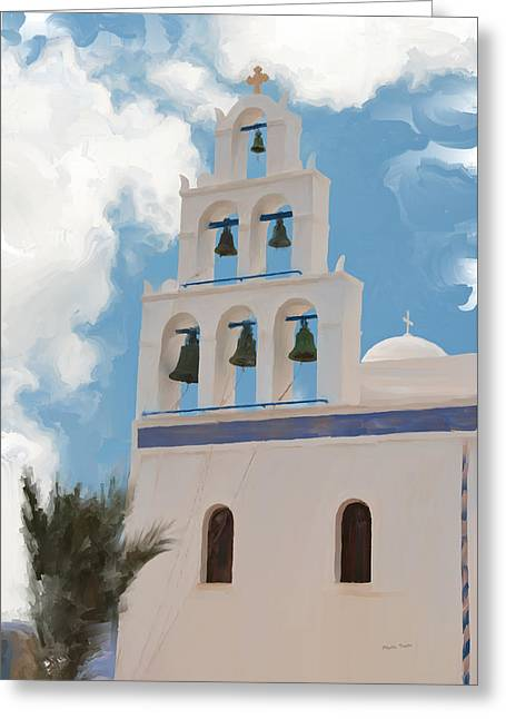 Mission Bells Greeting Card by Phyllis Taylor