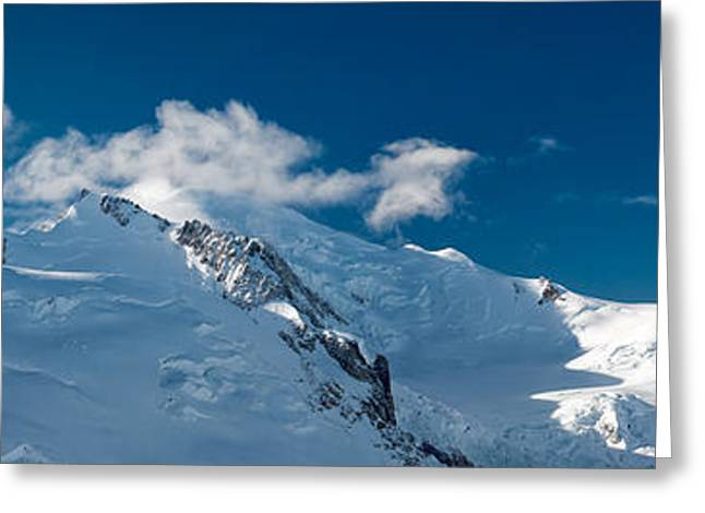 Mont Blanc Massiv Greeting Card by Juergen Klust
