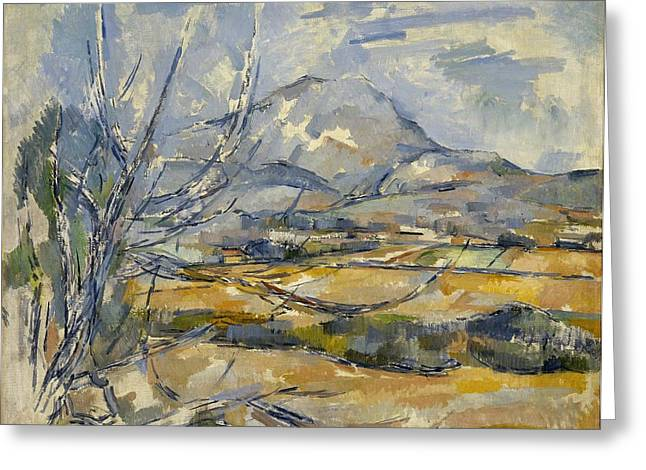 Montagne Sainte-victoire Greeting Card by Paul Cezanne