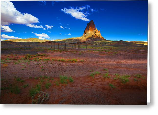 Monument Valley Utah Usa Greeting Card by Richard Wiggins