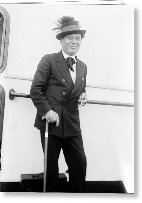 Morris Gest (1881-1942) Greeting Card by Granger