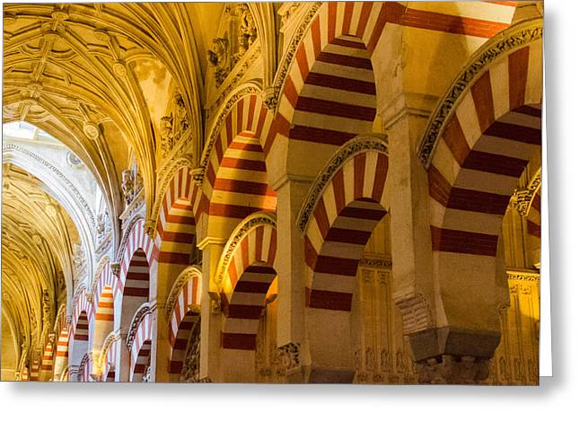 Mosque Cathedral Of Cordoba  Greeting Card by Andrea Mazzocchetti
