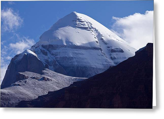 Mount Kailash Greeting Card