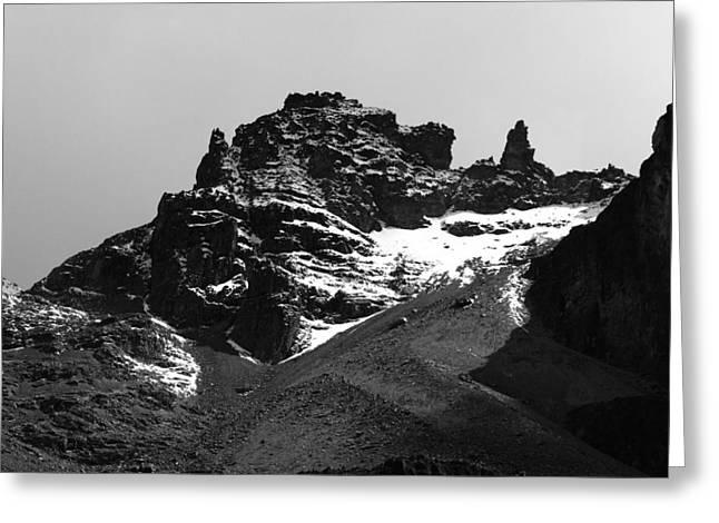 Mount Kenya Greeting Card by Aidan Moran