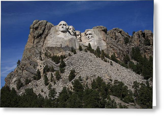 Mount Rushmore Greeting Card by Frank Romeo