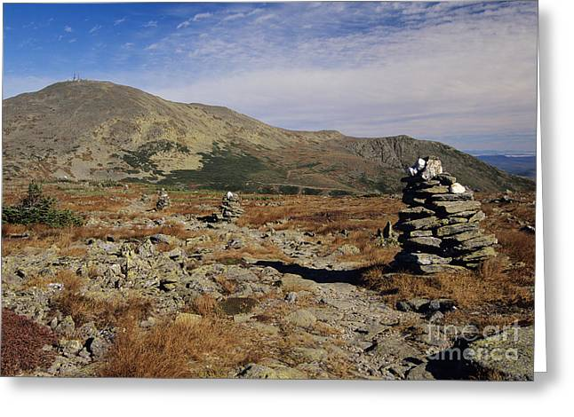 Mount Washington - White Mountains New Hampshire Greeting Card