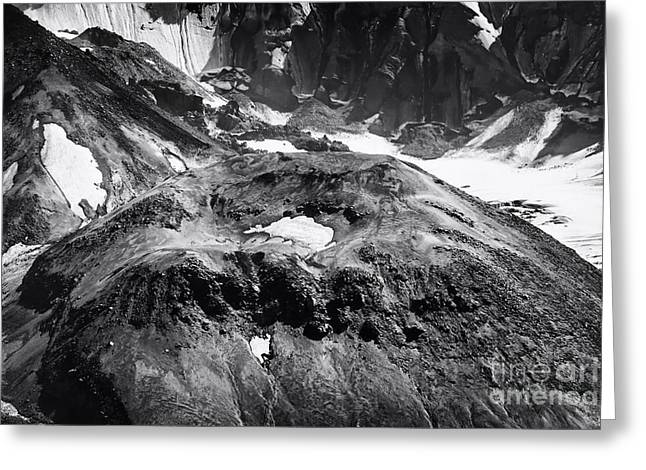 Mt St. Helen's Crater Greeting Card