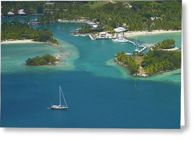 Musket Cove Island Resort, Malolo Greeting Card
