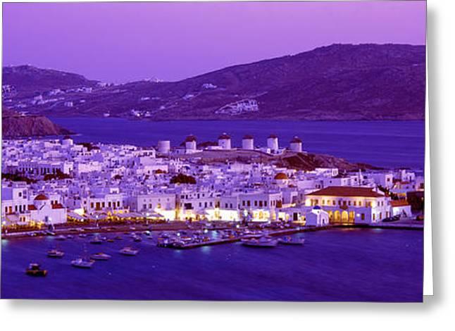 Mykonos, Cyclades, Greece Greeting Card