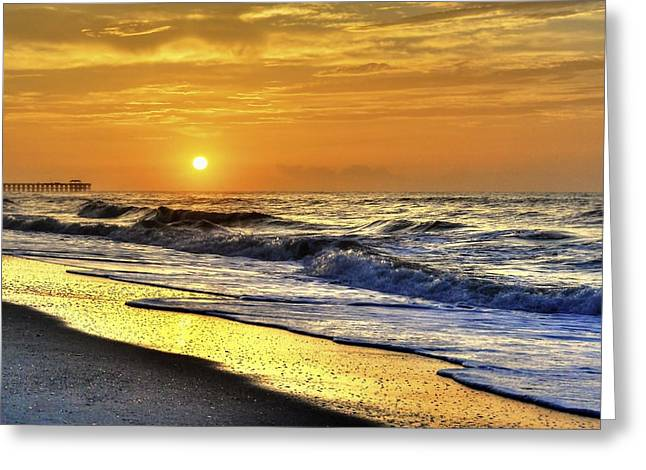 Myrtle Beach South Carolina Sunrise Greeting Card