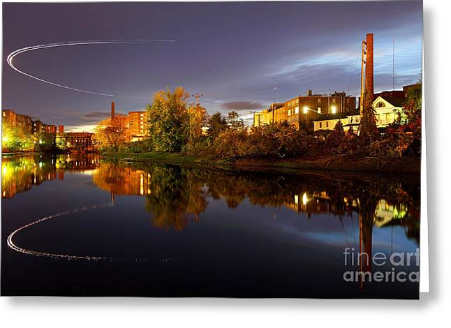 Nashua New Hampshire Greeting Card by Denis Tangney Jr