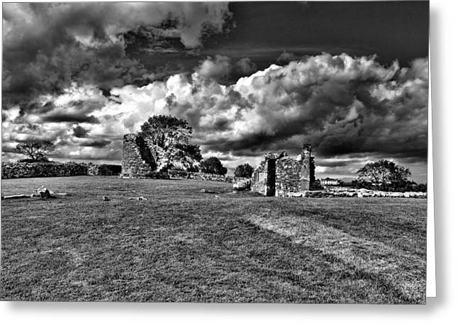 Nendrum Monastic Site Greeting Card