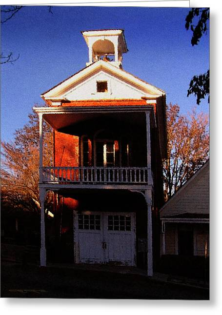 Nevada City F.d. Greeting Card
