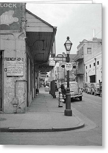 New Orleans, 1941 Greeting Card