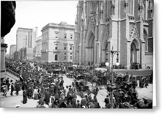 New York Fifth Avenue Greeting Card by Granger