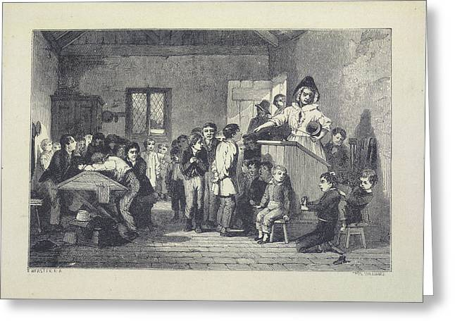 Nicholas Nickleby Greeting Card