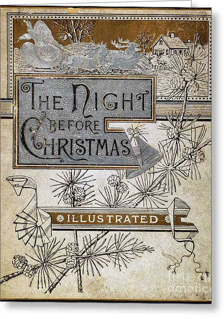 Night Before Christmas Greeting Card by Granger
