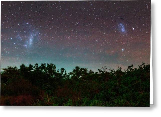 Night Sky Over Kenya Greeting Card by Babak Tafreshi