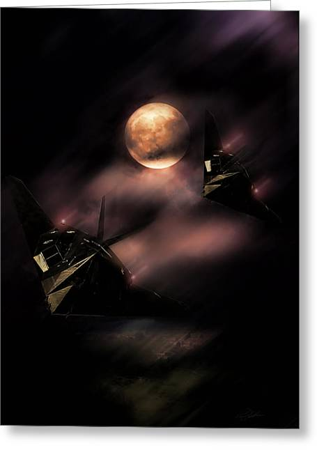 Night Stalkers Greeting Card