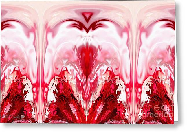 Noel Abstract Greeting Card by J McCombie