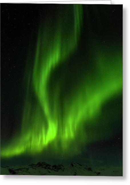 Northern Lights Or Aurora Borealis Greeting Card