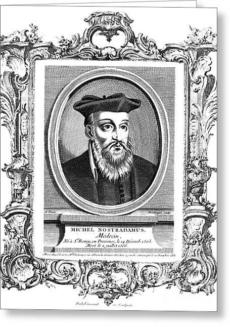 Nostradamus (1503-1566) Greeting Card