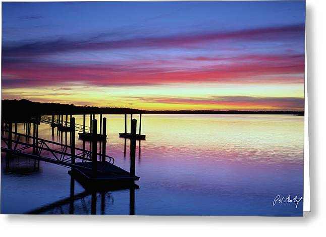 November Evening Greeting Card by Phill Doherty