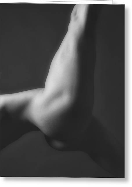 Nude Yoga Greeting Card