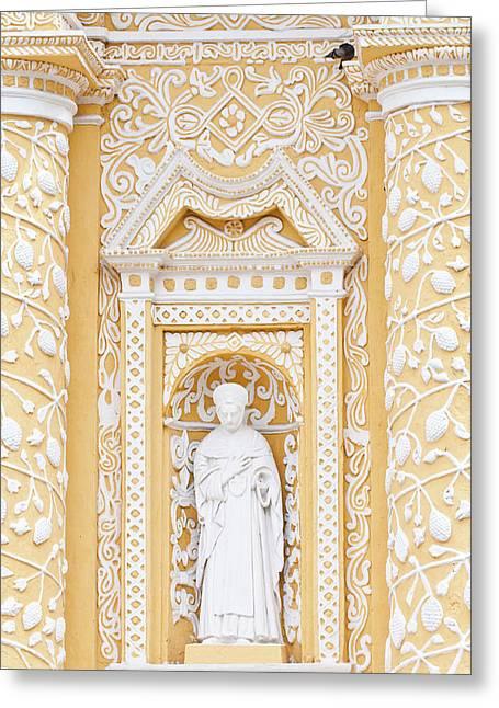 Nuestra Senora De La Merced Cathedral Greeting Card by Michael Defreitas