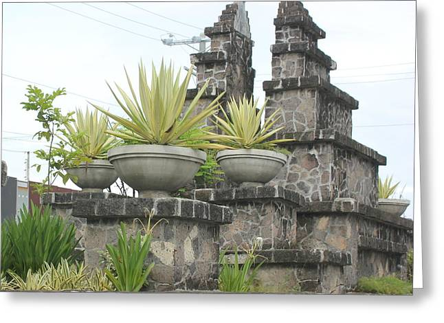 Greeting Card featuring the photograph Nusa Dua by Cyril Maza