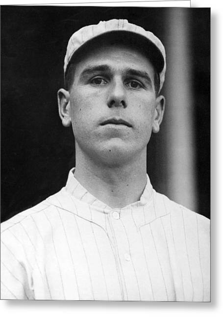 Ny Giants' Fred Snodgrass Greeting Card