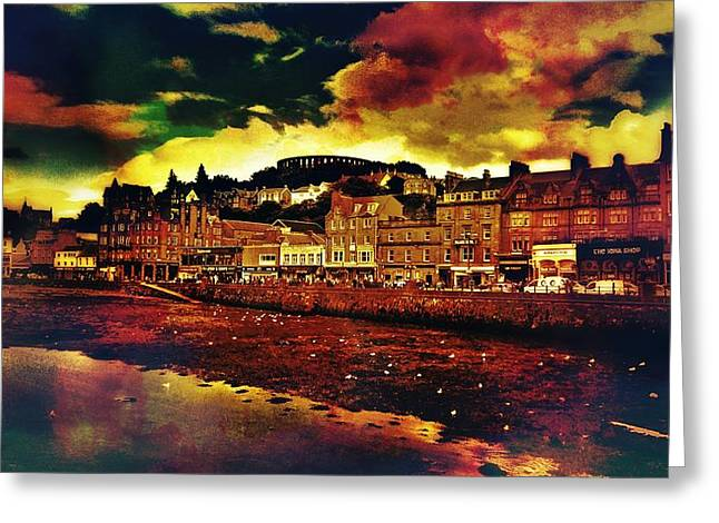 Oban In Scotland Greeting Card