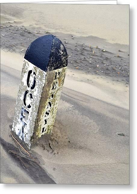Ocean And Penn  Greeting Card by Shaun  Scott