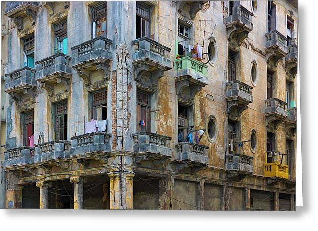Old Building In The Historic Center Greeting Card by Keren Su