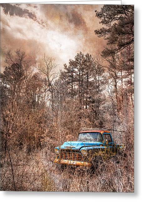 Old Chevy Greeting Card by Debra and Dave Vanderlaan
