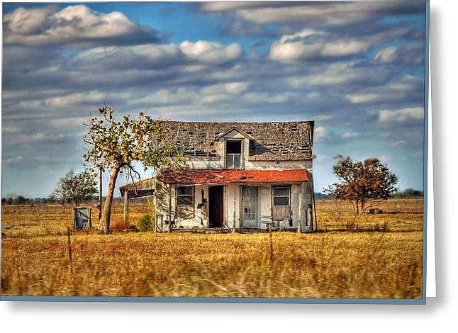 Greeting Card featuring the photograph Old Home by Savannah Gibbs