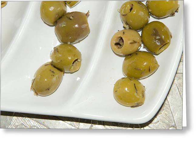 Olives Greeting Card