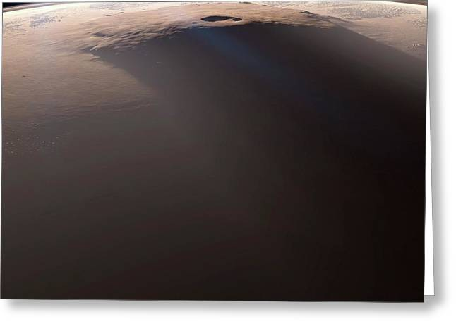 Olympus Mons Greeting Card
