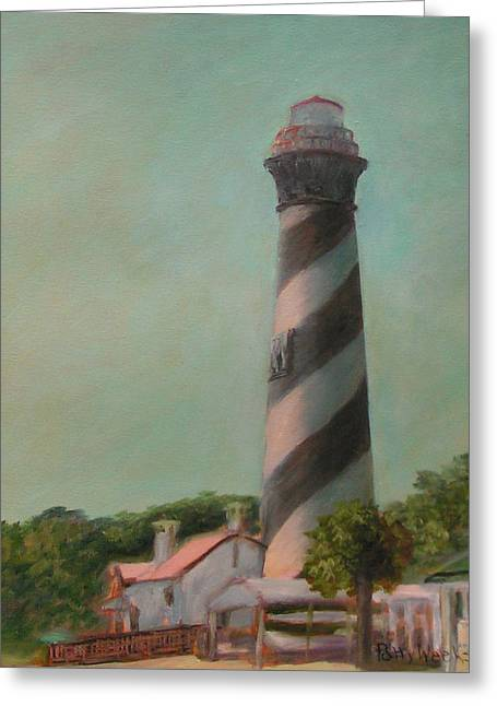 One Day At The St. Augustine Lighthouse Greeting Card