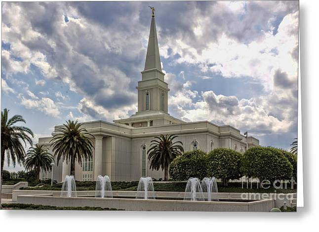 Orlando Temple Greeting Card