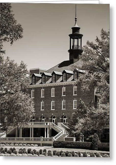 Osu Student Union Greeting Card by Ricky Barnard