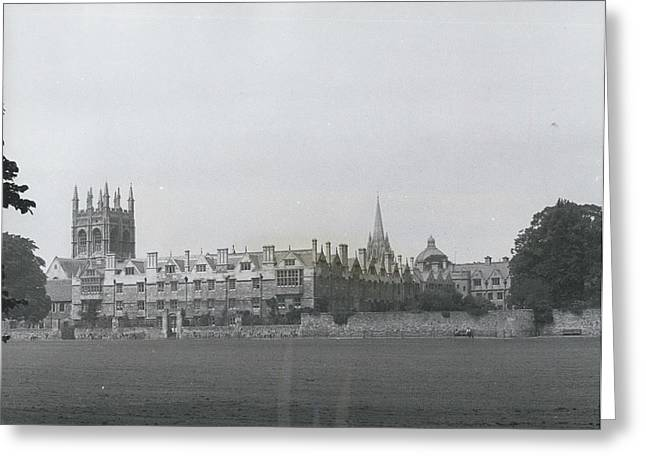 Oxford University, England Greeting Card by Retro Images Archive