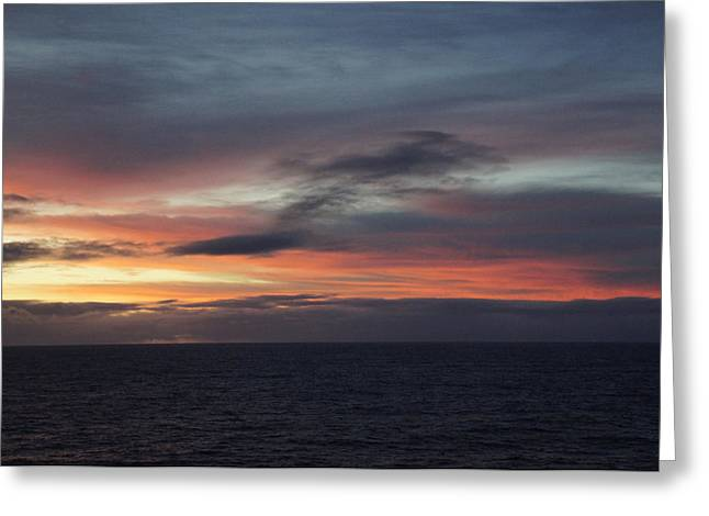 Pacific Sunrise Greeting Card