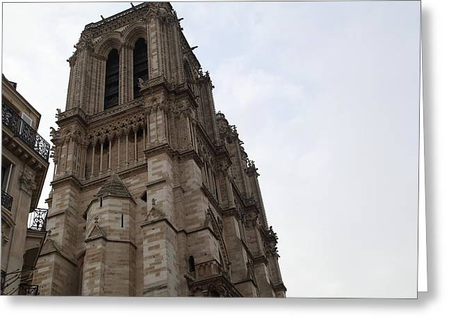 Paris France - Notre Dame De Paris - 011310 Greeting Card