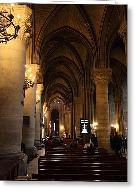 Paris France - Notre Dame De Paris - 01132 Greeting Card