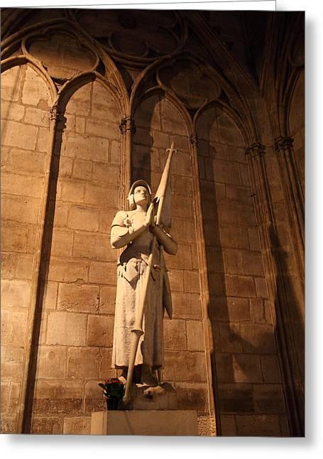 Paris France - Notre Dame De Paris - 01137 Greeting Card