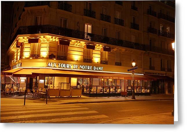 Paris France - Notre Dame De Paris - 01139 Greeting Card
